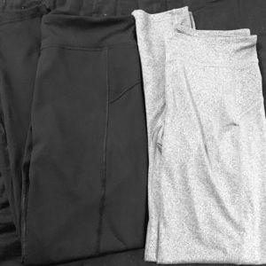 Two pair Aeropostale's leggings